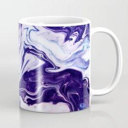 Blue, Pink, White and Purple Marble Coffee Mug