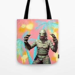 Creature of the pastel lagoon Tote Bag