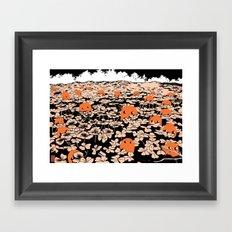 Clover Field Framed Art Print