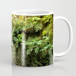 lime green waterfall Coffee Mug