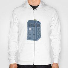 Abstract TARDIS Hoody