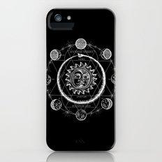 Boho Moon iPhone SE Slim Case