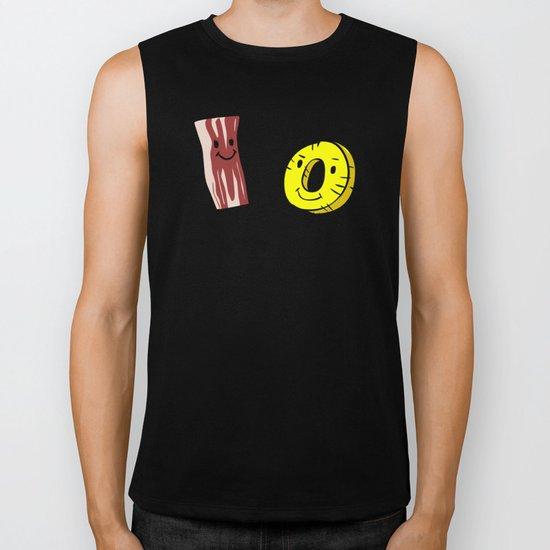 Bacon Pineapple Biker Tank