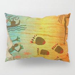 Cave Dwelling Native American Pillow Sham