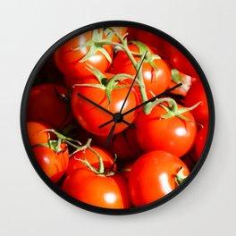 Tomatoes Wall Clock