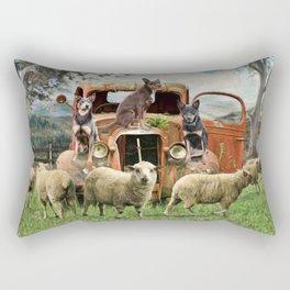 Kelpie Life Rectangular Pillow