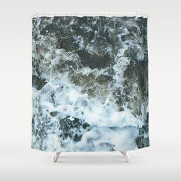 Grand River Splashing Shower Curtain