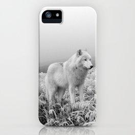 Winter Wolf iPhone Case