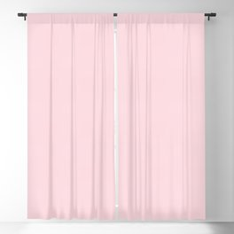 Millennial Pink Solid Blush Rose Quartz Blackout Curtain