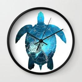 Sea Turtle - Under The Sea Wall Clock