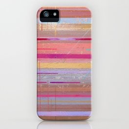 The Texture Of MisCommunication iPhone Case