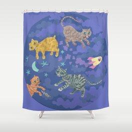 Astrocats Shower Curtain