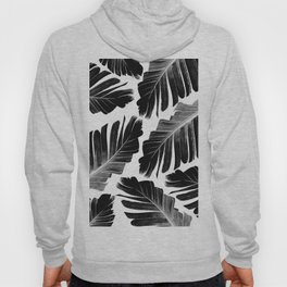 Tropical Black Banana Leaves Dream #1 #decor #art #society6 Hoody
