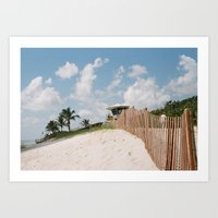 Florida Coastline Art Print