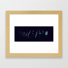 River Walk Fall Ensemble Framed Art Print