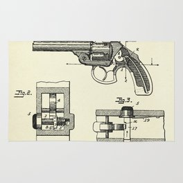 Safety Device for Revolvers-1896 Rug