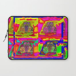 CRAZY NUT OLD CARS Laptop Sleeve