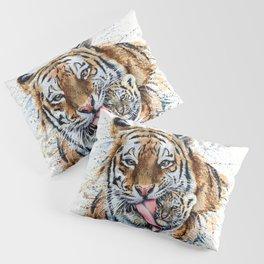 Tiger with cub Pillow Sham