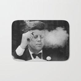 John F Kennedy Smoking Bath Mat