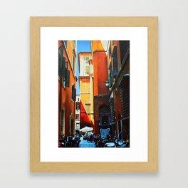 Alley in Rome Framed Art Print