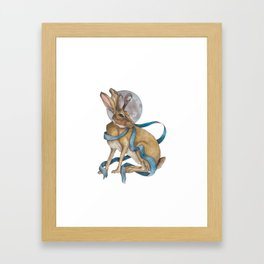 Tie Me To The Moon Framed Art Print