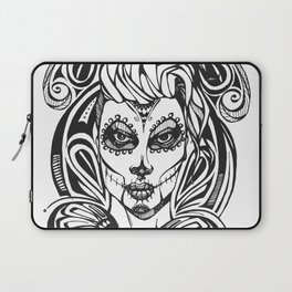 Day of the Dead India Laptop Sleeve