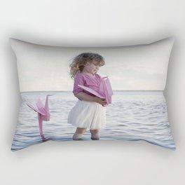 Le monde plié d'Anaé Rectangular Pillow