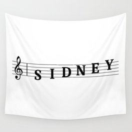 Name Sidney Wall Tapestry
