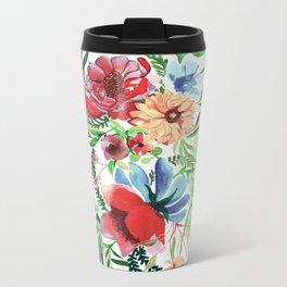 Springtime III Metal Travel Mug