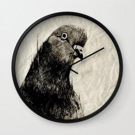 Lé Pigeon Wall Clock