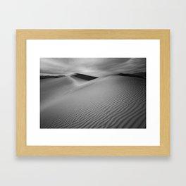 Sand Waves Framed Art Print