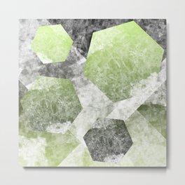 flatland 2 (green) Metal Print