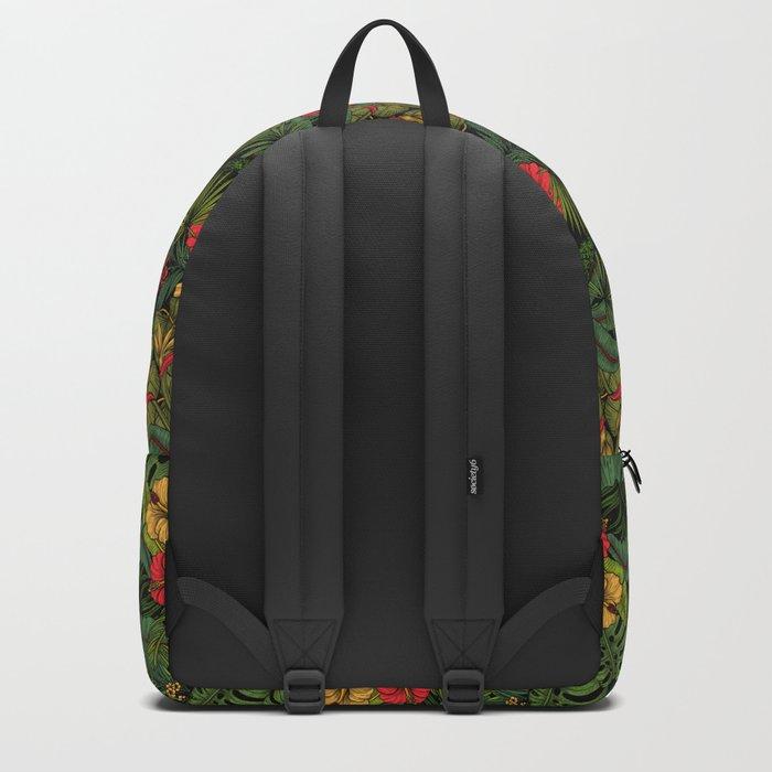Tropical garden Backpack