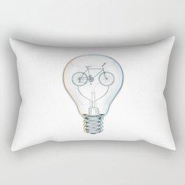 Light Bicycle Bulb Rectangular Pillow