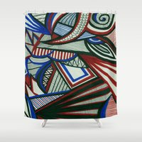 3d Shower Curtains featuring 3D by Jess D'Angelo