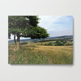 Virginia Countryside and Farmlands Metal Print