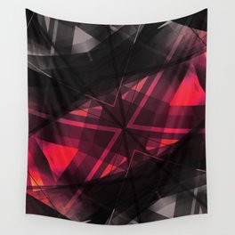 Connect - Geometric Abstract Art Wall Tapestry