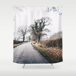 British countryside Shower Curtain