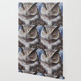 """The Owl - """"Watch-me!"""" - Animal - by LiliFlore Wallpaper"""