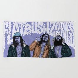 Flatbush ZOMBiES. Beach Towel