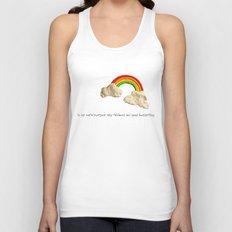 rainbows & poops Unisex Tank Top