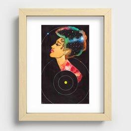 Pluto Recessed Framed Print