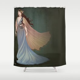 Elf Beauty Shower Curtain