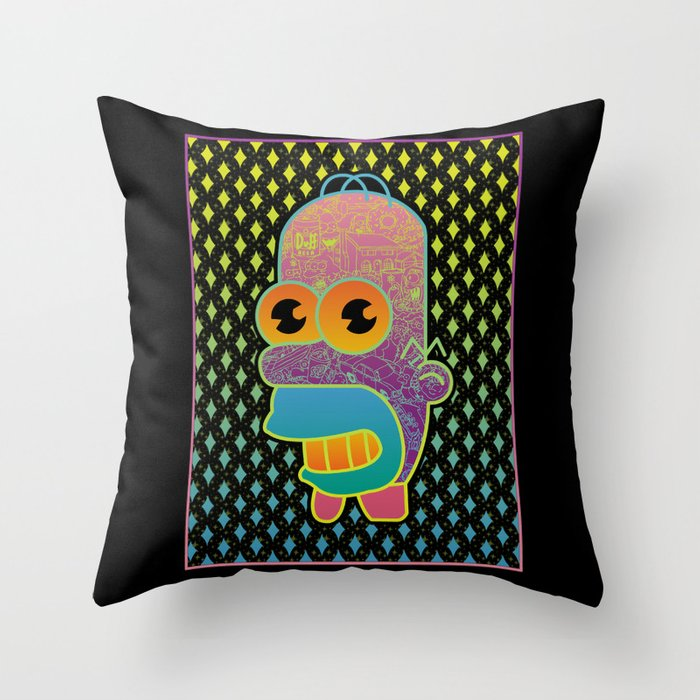 Stay Sparkly Throw Pillow