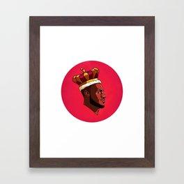 King James Framed Art Print