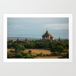 Burma's Country Roads II Art Print