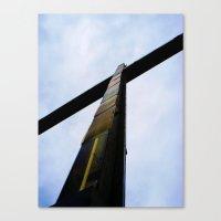 cross Canvas Prints featuring Cross  by Sierra Christie