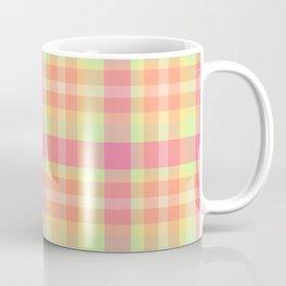 Summer Plaid 6 Coffee Mug