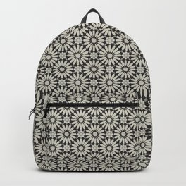 -A20- Floral Alhambra Traditional Moroccan Artwork. Backpack