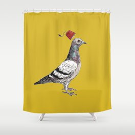 Unflappable Shower Curtain